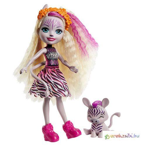 Enchantimals: Zadie Zebra & Ref figura szett - Mattel