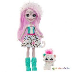 Enchantimals: Sybill Snow Leopard & Flake figura szett - Mattel