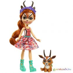 Enchantimals: Gabriela Gazelle & Spotter figura szett - Mattel