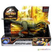 Jurassic World: Támadó Monolophosaurus dinoszaurusz figura - Mattel