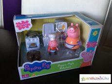 Peppa malac konyhája figurákkal