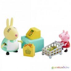Peppa vásárol játékszett figurával