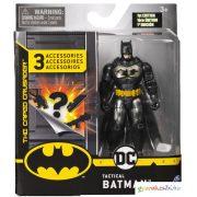DC Comics: Batman sötétszürke ruhában 10cm figura 3 kiegészítővel - Spin Master