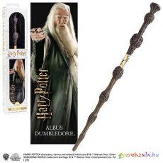Harry Potter Dumbledore varázspálca 3D könyvjelzővel