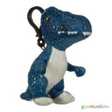 Jurassic World kék Velociraptor kulcstartó plüss kb 10cm