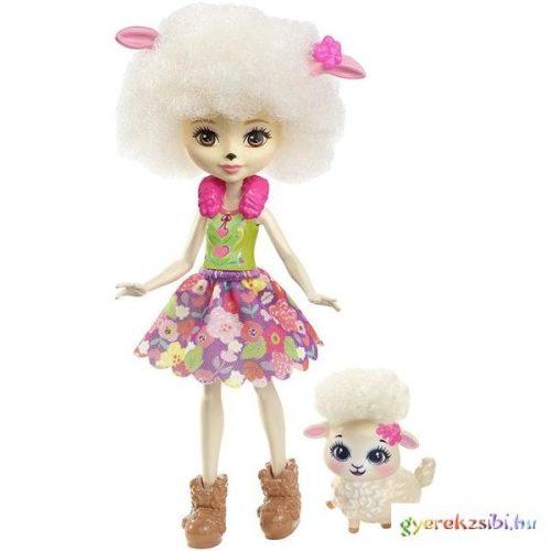 Enchantimals Lorna Lamb baba állatkával- Mattel